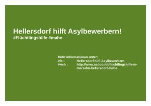 Banner Hellersdorf hilft